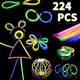 Glow Sticks- Glow Party Favors - Glow in The Dark Fun Party Pack with 8