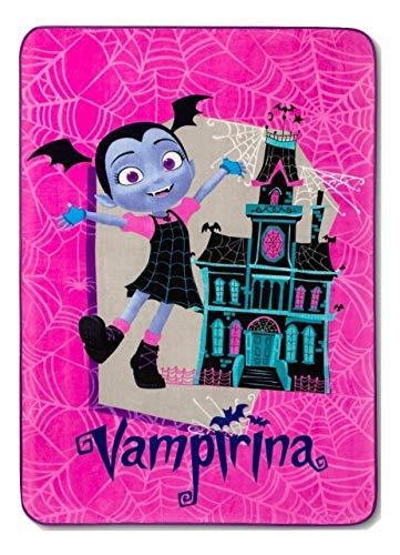 Disney Vampirina Large Plush Blanket 62'' x 90'' (Twin Size)