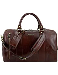 Tuscany Leather TL Voyager Travel leather duffle bag - Small size