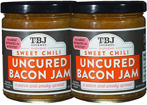 Pork Garlic Tenderloin (TBJ Gourmet Sweet Chili Bacon Jam - Original Recipe Bacon Spread - Uses Real Bacon, Sweet Chili, Garlic - No Preservatives - Authentic Bacon Jams - 9 Ounces (Pack of Two))