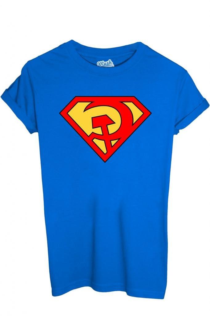 T-Shirt SUPERMAN COMUNISTA - POLITIC by iMage Dress Your Style imshT-IT-0501-parent