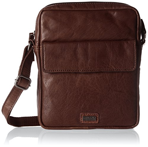 Brown Marrón Bolsos dark Bandolera Crossover Bag Sparrow Spikes amp; Mujer qvwz0F