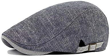 Bluelans/® Mens//Boys Cotton Blend Flat Cap Vintage Hat