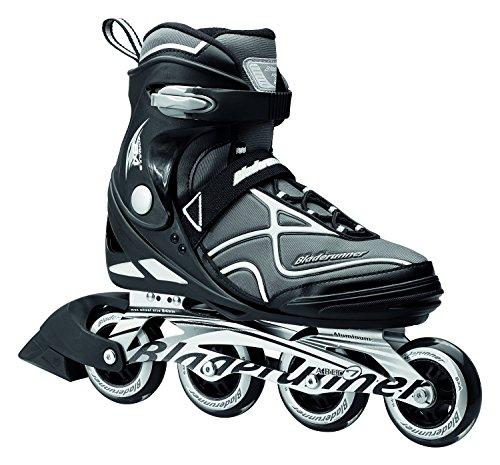 Bladerunner Men's Fitness Skates, Black/Silver, Size 11