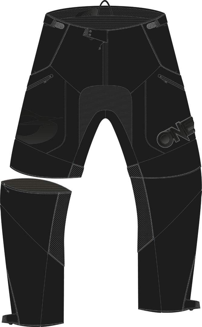 Black 30 ONeal Apocalypse Adult Pants