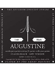 Augustine AUGBLKSET Nylon Classical Guitar Strings, Light