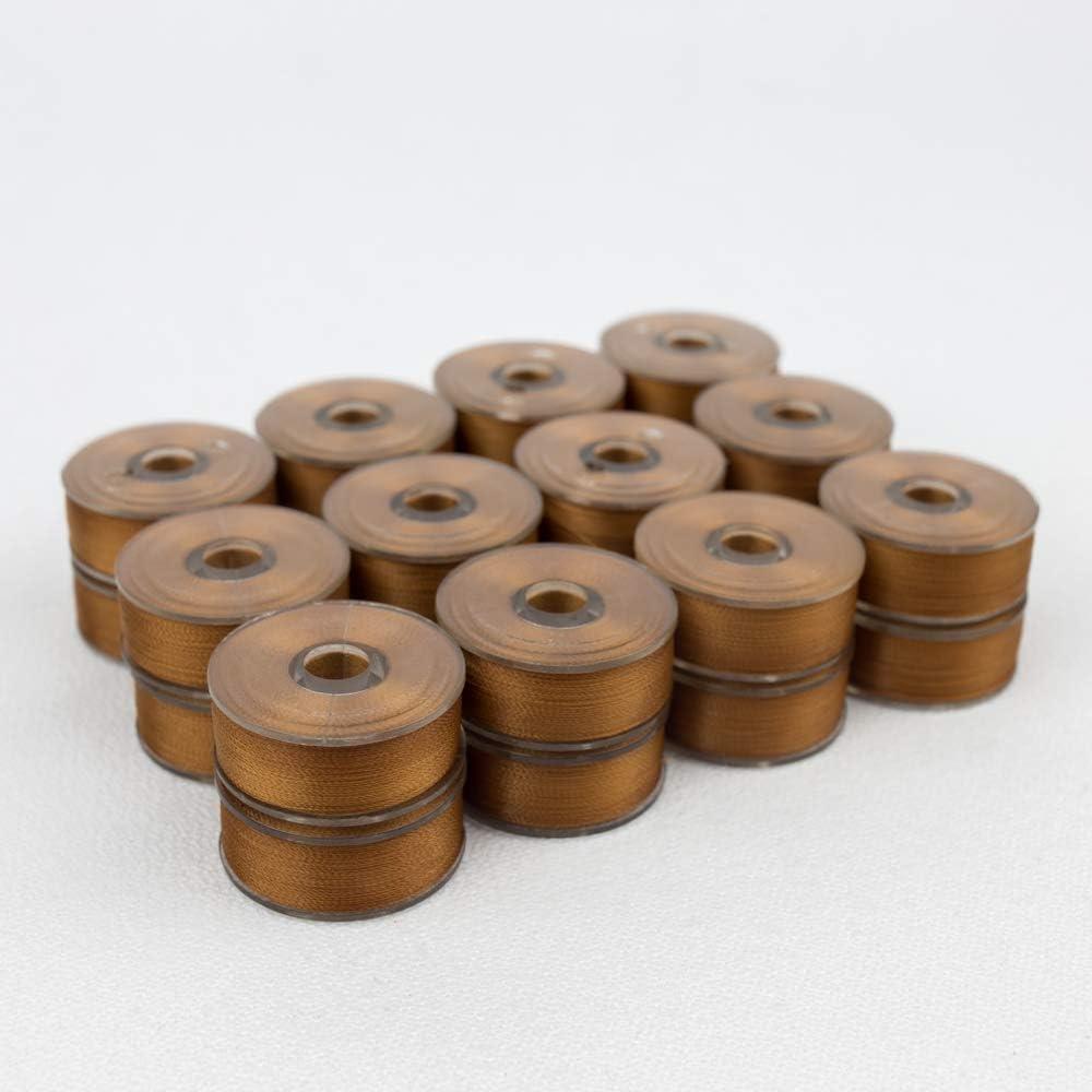 DecoBob Specialty Threads WonderFil Dark Copper Pre-Wound Bobbins Size L