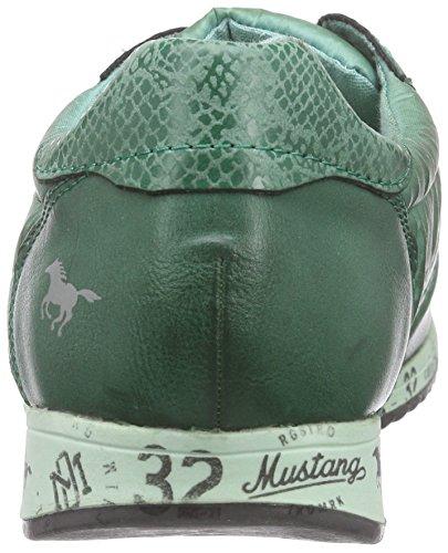 Mustang 1226-401 - Zapatillas Mujer Verde (700 dunkelgrün)