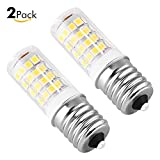 bulb e17 - Sanniu E17 LED Bulb Microwave Oven Light 4 Watt Daylight White 6000K Non-dimmable 51x2835SMD AC110-130V (Pack of 2)