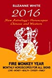 2016 New Astrology Horoscopes - Chinese and Western: Fire Monkey Year - Monthly Horoscopes For All Signs