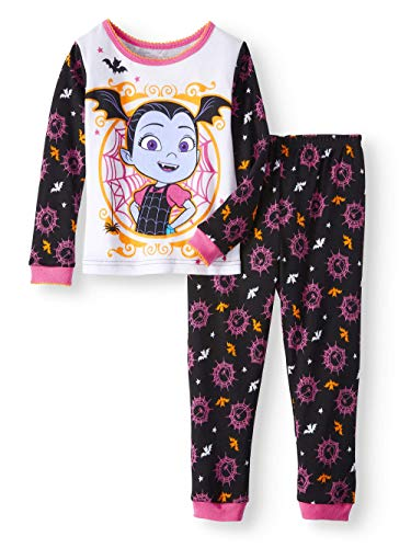 Disney Vampirina Little Girls Toddler Halloween Pajama Set (4T) -