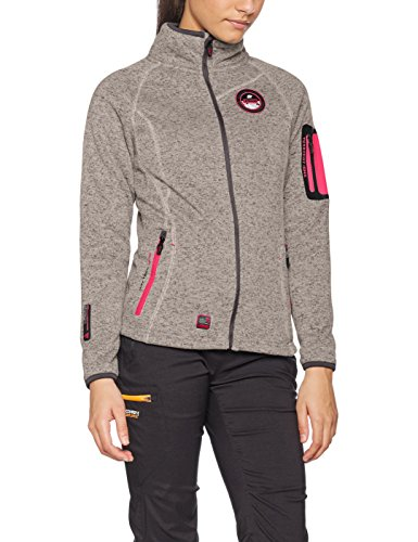 Geographical Norway Trapeze Lady, Blouson Femme Gris (Light Grey Light Grey)