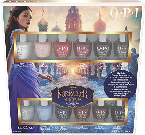OPI Infinite Shine Nutcracker Nail Polish Collection, Mini 12-Pack, 1.5 Fl - Nutcracker Coat