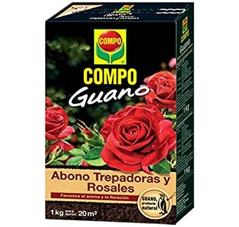 Compo Abono para trepadoras y Rosales con Guano Natural, Favorece el Aroma y la floración, para 20 m², 2 kg, 1275122011: Amazon.es: Jardín