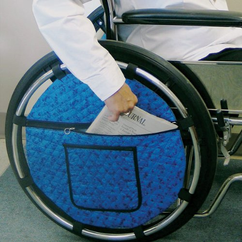 - Quilted Wheel Pouch for Wheelchair