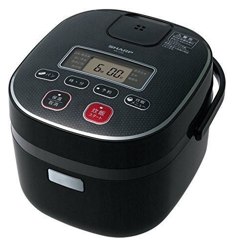 Sharp rice cooker 0.54L type black-based KS-C5H-B
