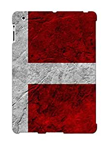 Eatcooment Cute Tpu OCQxfko3964WSnss Flag Of Denmark Case Cover Design For Ipad 2/3/4