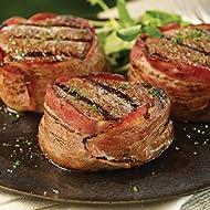 Omaha Steaks 2 (5 oz.) Bacon-Wrapped Filet Mignons