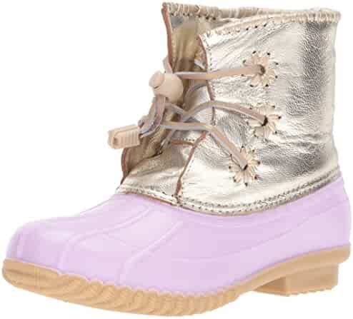 Jack Rogers Kids' Miss Chloe Metallic Rain Boot