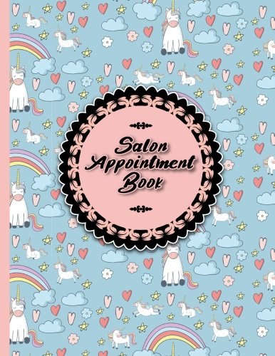 Download Salon Appointment Book: 7 Columns Appointment Journal, Appointment Scheduler Calendar, Daily Planner Appointment Book, Cute Unicorns Cover (Volume 65) pdf epub