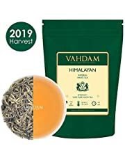 Tè bianco imperiale dell'Himalaya in foglie – Il tè più sano al mondo, ricco di POTENTI ANTIOSSIDANTI, raccolto fresco a mano nel 2019 da piantagioni di alta quota, floreale e invitante, 25 Tazze