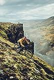 Ergon - GE1 Evo Ergonomic Lock-on Bicycle Handlebar Grips | for Mountain, Trail and Enduro Bikes | Regular Fit | Black