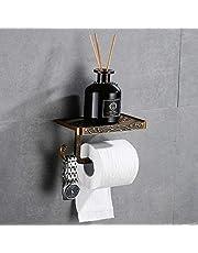 Hoomtaook Toiletpapierhouder met houder voor mobiele telefoon