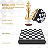Peradix Magnetic Travel Chess Set with Folding