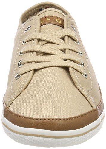 Basses Marron Kesha desert Sand Sneakers Femme 932 Sneaker Hilfiger Iconic Tommy wxHRZSX0qT