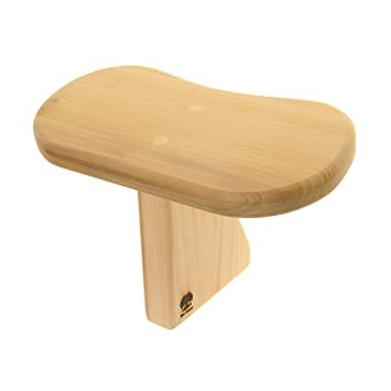 Blue Banyan Banc De Méditation Toadstool Tulipwood Grand Amazon