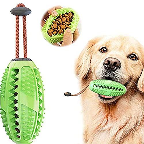 Hund Zahnbürsten Stick Ball Hundespielzeug Ball Leckerli-Spender für Hunde Welpen-Zahnpflege, Bürsten und Kauspielzeug…