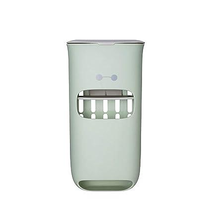 Zeagro - Dispensador de Bolsas de plástico Multiusos para el hogar, contenedor Organizador de Almacenamiento de contenedor, Caja de Reciclaje, 30137,5 ...