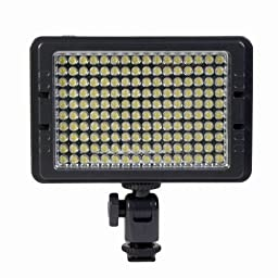 Promaster LED80VT Camera / Camcorder Light - 160 LEDs – 80 daylight/80 yellow