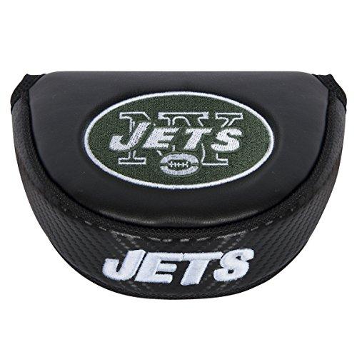 NFL Black Mallet Putter Cover (Putter Cover Jets)