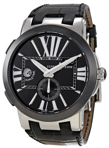 ulysse-nardin-executive-dual-time-automatic-black-leather-mens-watch-243-00-42