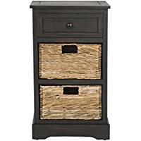 Safavieh American Homes Collection Carrie Brown Side Storage Side Table