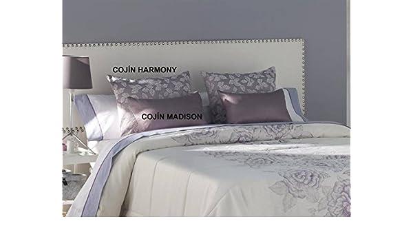 Tejidos JVR - Cojín Harmony 30x50 cm - Color Malva sin ...