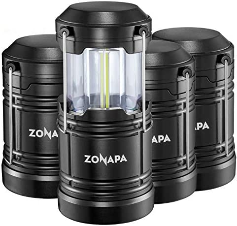 Zonapa S800 Lantern With Magnetic Base 4 Lamps for sale online