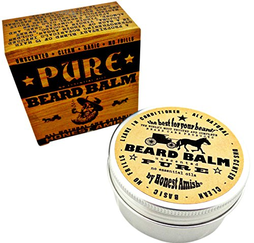 Honest Amish Fragrance Beard Natural