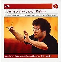 Brahms: Symphonies Nos. 1 - 4 / Piano Concerto No. 1 / A German Requiem / (8) Lieder