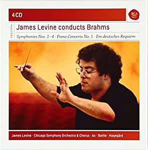 James Levine Conducts Brahms. Serie Sony Classical Masters