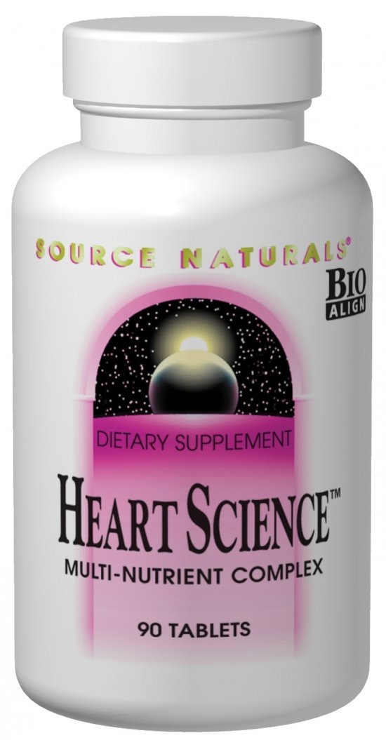Source Naturals HeartScience Multi-Nutrient Complex – Supports Normal Heart Function Blood Circulation – 120 Tablets