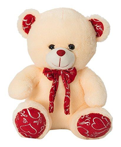 Dimpy Stuff Teddy Bear, Cream (36cm)