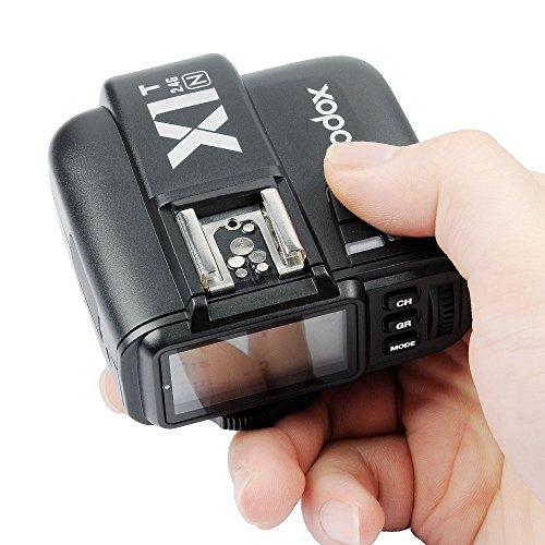 Godox X1T-N 2.4G i-TTL Wireless LCD Flash Transmitter for Nikon Camera (X1T-N) by Godox (Image #3)