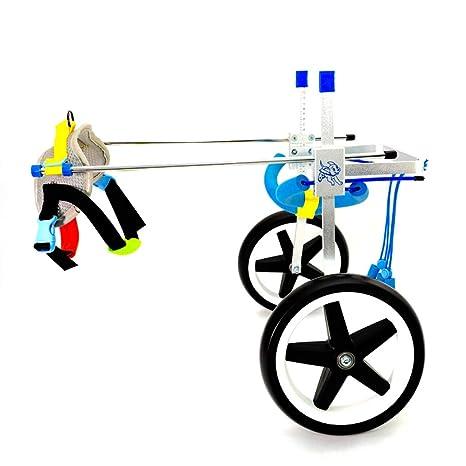 Silla de ruedas para perros ajustable Ruedas Silla de ruedas para perros - Para la mayoría de ...