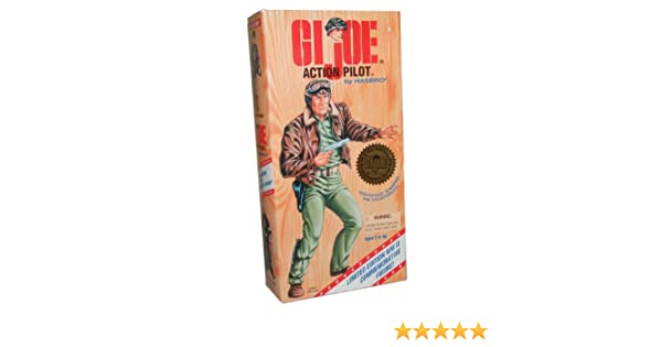 GI Joe Year 1995 World War II 50th Anniversary Commemorative Limited Edition 12 Inch Tall Soldier Action Figure - ACTION PILOT with Pilots Uniform, ...