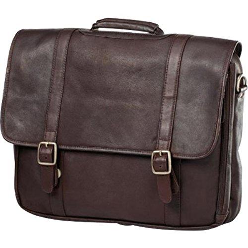 (クラヴァ) CLAVA レディース バッグ パソコンバッグ Leather Gusset Laptop Briefcase [並行輸入品] B07CHC6XVW