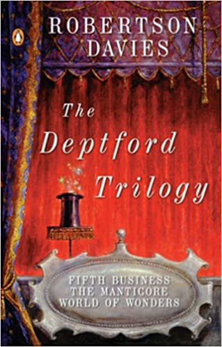 the deptford trilogy fifth business the manticore world of  the deptford trilogy fifth business the manticore world of wonders robertson davies  amazoncom books