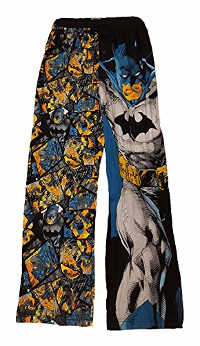 DC Comics Batman Vs Superman Batman Knit Graphic Sleep Lounge Pants - Medium