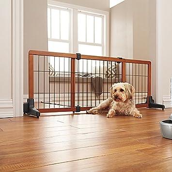 74aa4757f7c Amazon.com   Carlson Freestanding Extra Wide Pet Gate   Baby